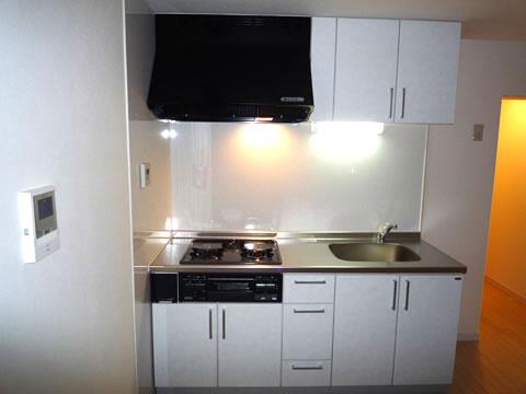 収納力アップ システムキッチン