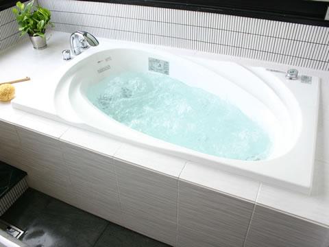 こだわりの空間スタイリッシュな浴室
