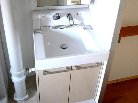 洗面台 省スペースでリフォーム
