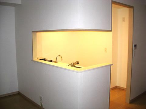 オープンキッチン リフォーム