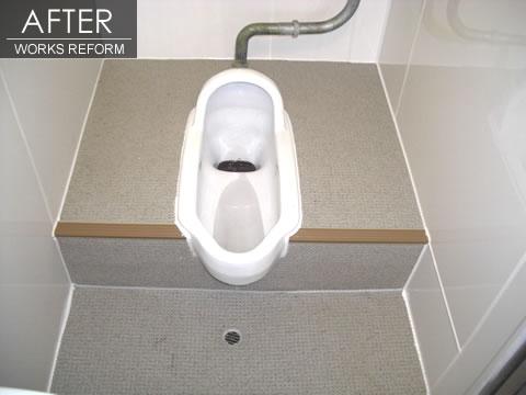 ハイツのトイレ・浴室をリフォーム