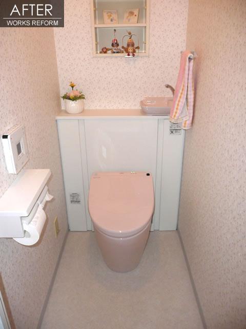 クロスとトイレのリフォーム