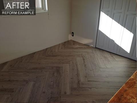 床リフォームで上品な空間