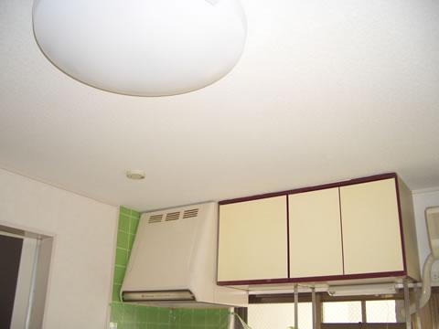 天井の雨漏り跡をリフォーム