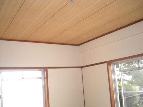 和室天井雨漏り修理