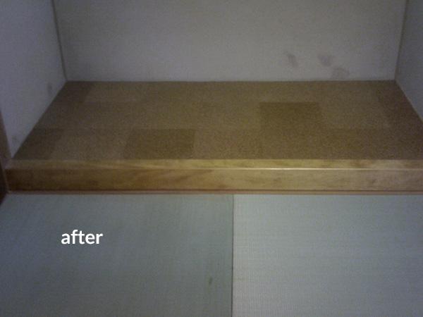 和室の床の間にペット部屋を作りました! 4枚目
