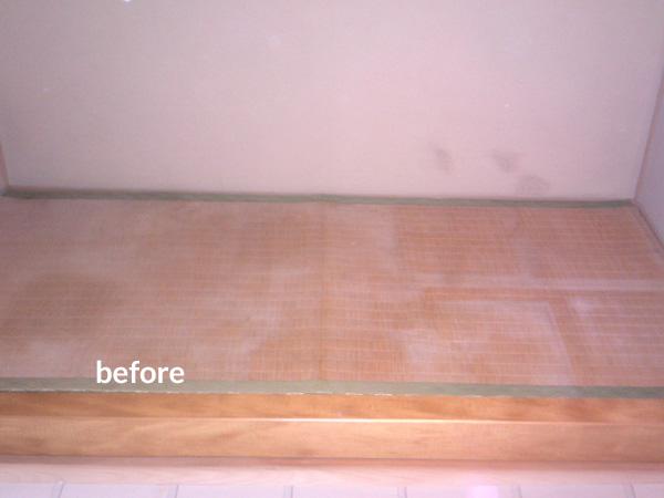 和室の床の間にペット部屋を作りました! 1枚目