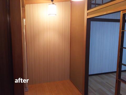和室を8帖和洋室のリラックススペースにリフォーム 1枚目