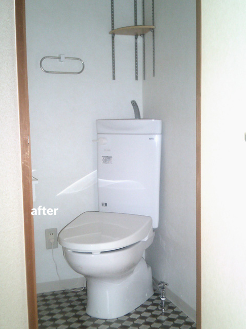 2階のトイレ新設とLDKに開放感をもたらすリフォーム 2枚目