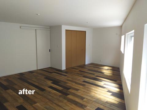 4階建て文化住宅 2階部分の全室を3LDKの居住空間にリフォーム 7枚目