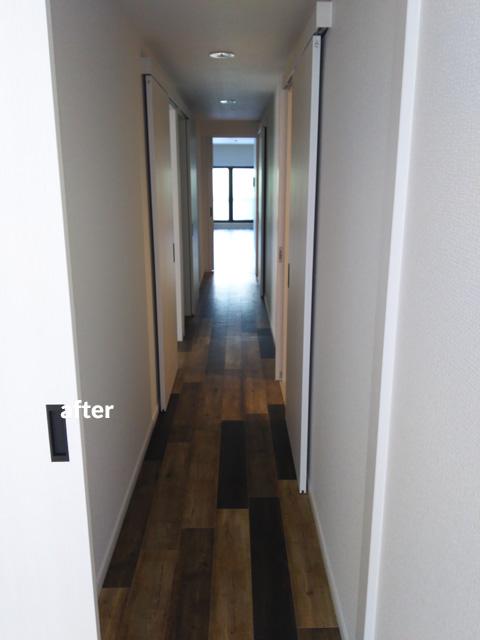 4階建て文化住宅 2階部分の全室を3LDKの居住空間にリフォーム 9枚目