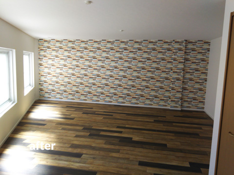 4階建て文化住宅 2階部分の全室を3LDKの居住空間にリフォーム 4枚目
