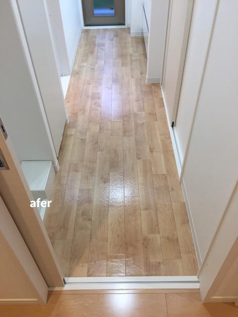 マンション1階住居をナチュラル感のある床材で暖かみのある空間に 9枚目