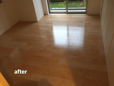 マンション1階住居をナチュラル感のある床材で暖かみのある空間に 3枚目