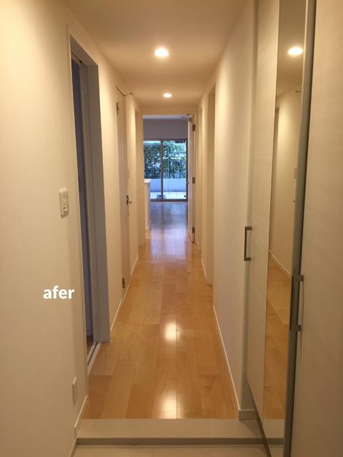 マンション1階住居をナチュラル感のある床材で暖かみのある空間に 5枚目