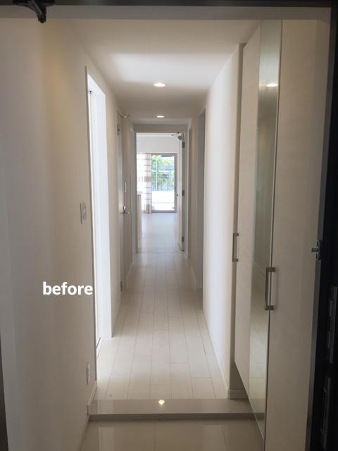 マンション1階住居をナチュラル感のある床材で暖かみのある空間に 6枚目