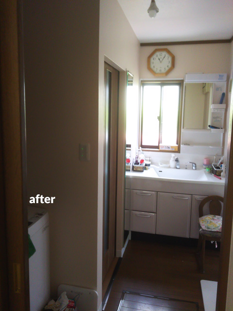 キッチン・トイレ・洗面所などの水回りとウッドデッキのリフォーム 3枚目