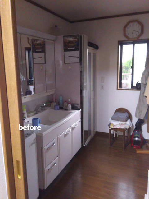 キッチン・トイレ・洗面所などの水回りとウッドデッキのリフォーム 4枚目