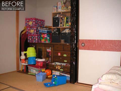 8畳和室を2人の子供部屋にリフォーム 2枚目