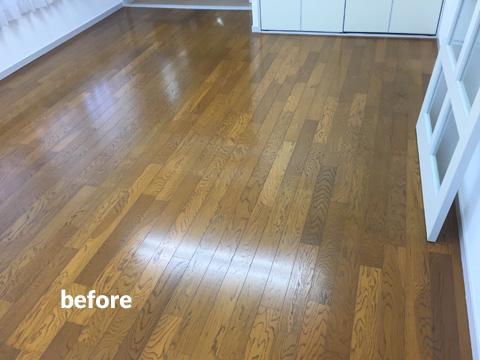 原状回復が必要な賃貸オフィスの床を貼って剥がせるリフォーム 2枚目