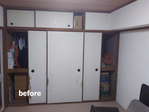 和室を洋室へリフォーム 子供一人に一部屋ずつ 4枚目