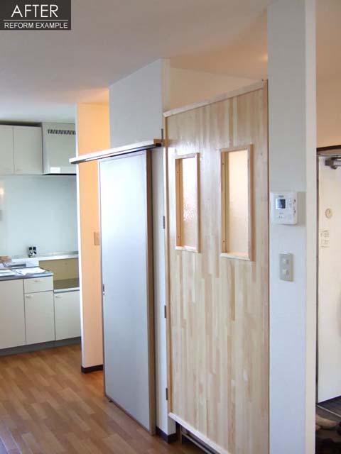 築20年の賃貸アパートを3DKから2LDKへリノベーション 2枚目