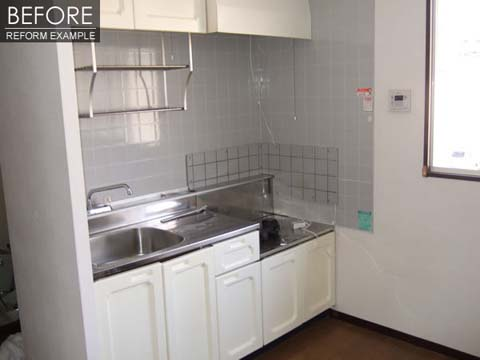 築20年の賃貸アパートを3DKから2LDKへリノベーション 5枚目